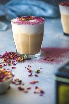 Rose & Earl Grey Tea Latte