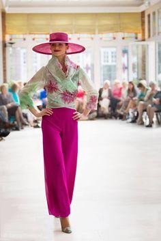 Art & fashionshow Jos Exler in kasteel Maurick.