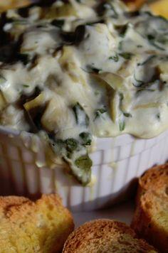 Crock Pot Spinach Artichoke Dip