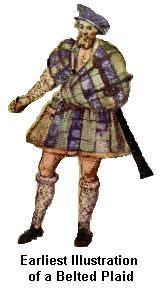 Écossais Costume Écossais Écosse Highlander Costume Casquette Kilt Guerrier Tartan