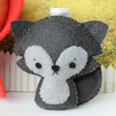 Patterns Felt Little Red Riding Hood and Wolf Cub by typingwithtea