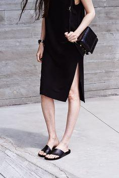 Black Minimal #Street Style