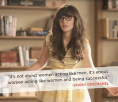 Zooey Deschanel talk