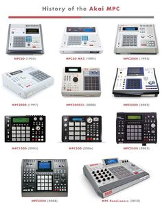 "Ubiquity Records History Of The Akai MPC... ""Ubiquity Records History Of The Akai MPC..."""