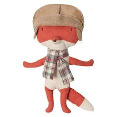 Fox with Hat Stuffed Animal--LOVE the hat!!!!