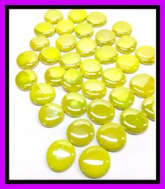 Approximately 1.5-40mm Nice for Magnets Consistent Size 5 Extra Large Clear Glass Nuggets Molded Glass Gems GM4000