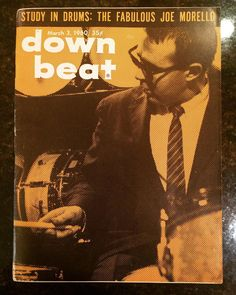 A super cool and thoughtful gift from my friend @andyburtonmusic ... A total trip back to 1960. #downbeat