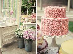 sweet vintage wedding