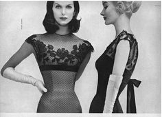 Anne and Sunny Harnett, March Vogue 1956