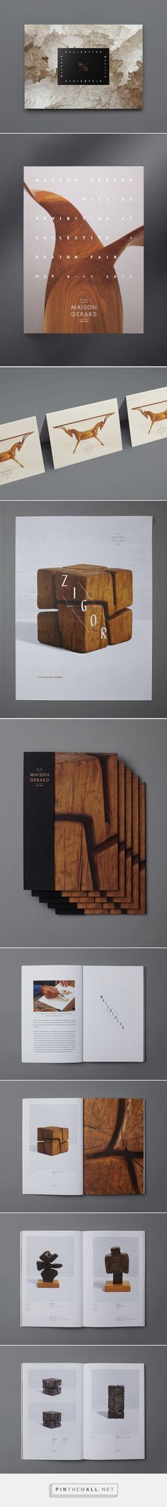 Maison Gerard – Collateral on Behance - created via http://pinthemall.net