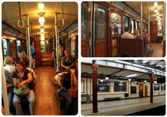 GETTING AROUND: Subte Linea A (with its historic carriages). From the great blog of German-American couple Dani and Jess. This entry shows you what you can easily see in a day. But wait, they have more!! Take a look.