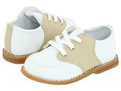Designer's Touch Kids Conner (Infant/Toddler) White/Tan - Zappos.com Free Shipping BOTH Ways (For Cash Man!)
