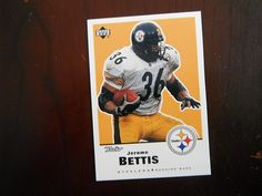 Jerome Bettis - 1999 Upper Deck Retro 122 - Pittsburgh Steelers / Notre Dame ** Read more reviews of the product by visiting the link on the image.