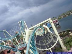 Looking for statistics on the fastest, tallest or longest roller coasters? Find it all and much more with the interactive Roller Coaster Database. Thorpe Park, Riders On The Storm, Roller Coasters, Amusement Parks, Chennai, Surrey, United Kingdom, Fair Grounds, England