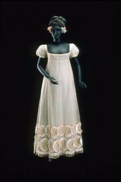 Ball Gown or Wedding Dress 1815-1820 MFA