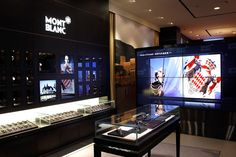 Montblanc flagship store, Beijing  June 21st, 2012 by retail design blog      The Montblanc Beijing flagship is a 4-story store in the heart of Sanlitun. It will offer all Montblanc limited editions and the entire Princess Grace de Monaco collection.