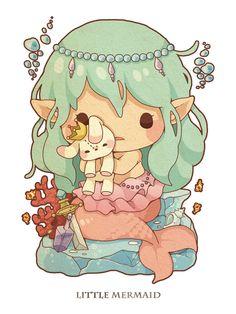 Little Mermaid - http://www.pixiv.net/member_illust.php?id=5335504