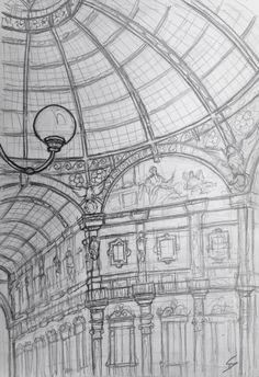 Sketch gallery – EUROPE INTERAIL TRIP – Sketchbook Explorer Duomo Milan, Arch Of Titus, Galleria Vittorio Emanuele Ii, Museum Cafe, Art Pad, Milan Cathedral, East Side Gallery, Architecture Sketchbook, Sketchbook Pages