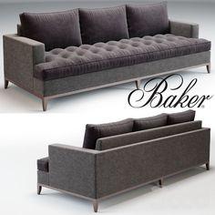 Baker Bennet Sofa No. 6567S