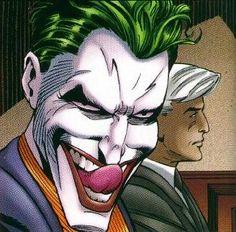 Joker And Harley Quinn Love Joker Comic Book, Comic Books Art, Joker Pics, Joker Art, Joker Arkham, In The Pale Moonlight, Heath Ledger Joker, The Devil's Advocate, Cartoon Memes