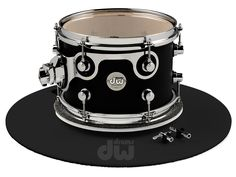 Designed by John good, DW's Drum Designer, to make tuning easier and more precise, this black plexiglass Tuning Table features soft carpeted surfaces and a friction-free-swivel. Tuning keys, and a handy carrying case are included. #dwdrums #dwdads #fathersday