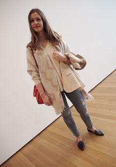 #aninebing jeans #stevemadden shoes #michaelkors bag, watch and jewlery #ELLINORSANDE