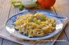Un primo molto speciale, preparato con due ingredienti tipicamente invernali: le profumate tagliatelle con arancia e finocchi!