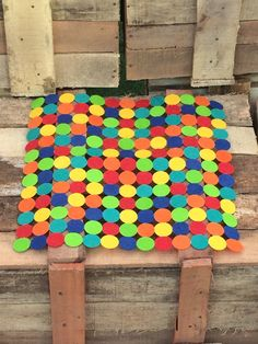 Pop of Color Mat by vedikaaggarwal on Etsy