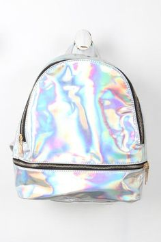 c29b37295 Mini Retro Holographic Backpack-Accessories, Bags-Whurk Carteras, Bolsos,  Bolsas Laterales