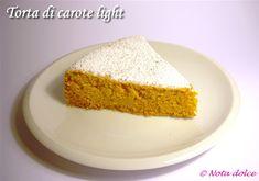 Torta di carote, ricetta dolce light