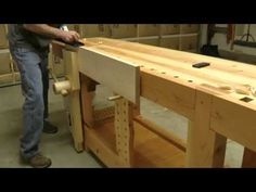42 - The Roubo Workbench in Action - YouTube