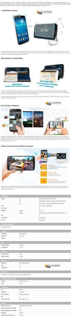 comprar Samsung Galaxy Mega 6.3 / venta galaxy mega en Argentina