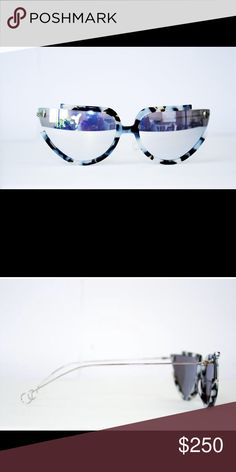 Eclipse Polycarbonate Marble Frame  Mirror Polycarbonate LensStainless Steel HingesCat.3 Lens100% UV protection Adonis King Collection Accessories Sunglasses