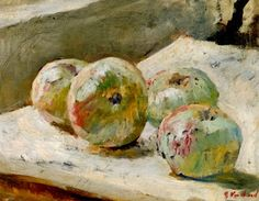 Four Apples ~ Edouard Vuillard