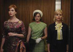 The Mad Men Waiting Area Elevator Fashion Show