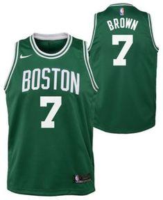 e9571ebf6ff7 Men s Boston Celtics Jayson Tatum Nike Green Swingman Jersey Icon ...