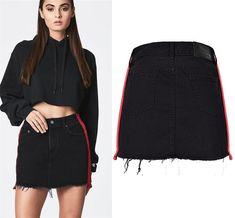 606342243a179 30 Best Crop Top Skirt 2-Pieces Set images | High waist, Shoulder ...