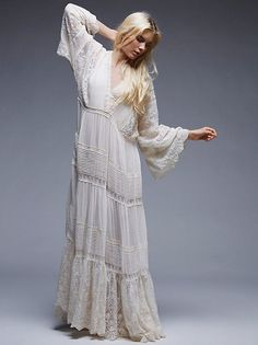 Spell and the Gypsy Collective Magnolia Gown at Free People Clothing Boutique