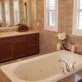 Kristie's Tuscan Villa in Vegas Bathroom