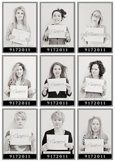 Fun Bachelorette Party Ideas - mug shots