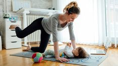 When Can You Start Doing Exercises After C-Section? : Did you have a cesarean delivery & are wondering when you can work out to get back in shape? Read to know when can you start doing exercises after C section Sport Motivation, Fitness Motivation, After C Section Workout, Exercising After C Section, Lacrosse, Post C Section, Sport Videos, C Section Recovery, Getting Back In Shape