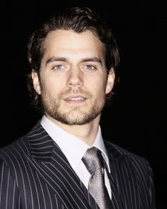 Don't know who he is but he is the person who come closest to my minds image of Christian Grey: Henry Cavill