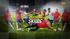 Watch the video «Training skills – A spectacular training match» uploaded by FC Barcelona on Dailymotion.