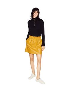FAUX LEATHER SKIRT-View all-SKIRTS-WOMAN | ZARA Philippines