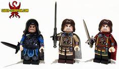 Middle-Earth: Rangers of Vengeance. http://saber-scorpion.com #LEGO #minifigures #lotr #talion