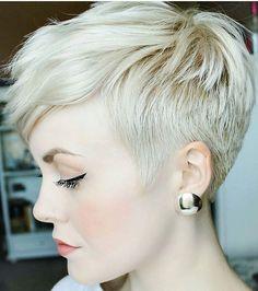 @sarahb.h #pixie #harcut #shorthair #h #s #p #shorthaircut #blondehair #b #hair #blondeshavemorefun #platinumhair #blonde #haircuts