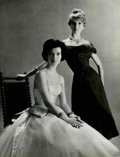 vogue 1957 Lanvin Castillo and Jean Desses