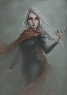 My love Manon Blackbeak from the Throne of glass series by the awesome Sarah J Maas