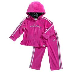 Adidas Luxe Velour track suit