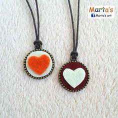 felt necklaces